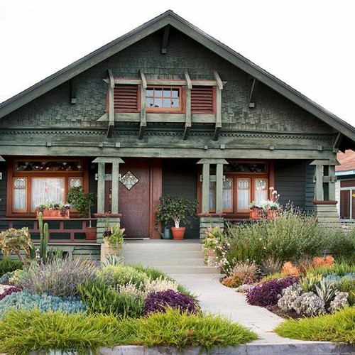 15 Fabulous Designs For Your Front Entry: 70 Fabulous Images For Front Yard Design