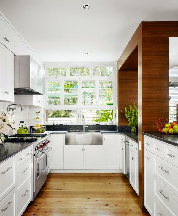 Functional and practical kitchen solutions for small for Kitchen design solutions