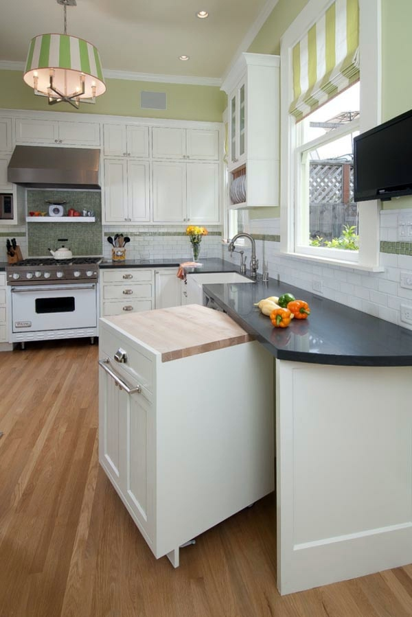 Attractive Control Panels Depending On The Flavor Functional And Practical Kitchen  Solutions For Small Kitchens Part 4