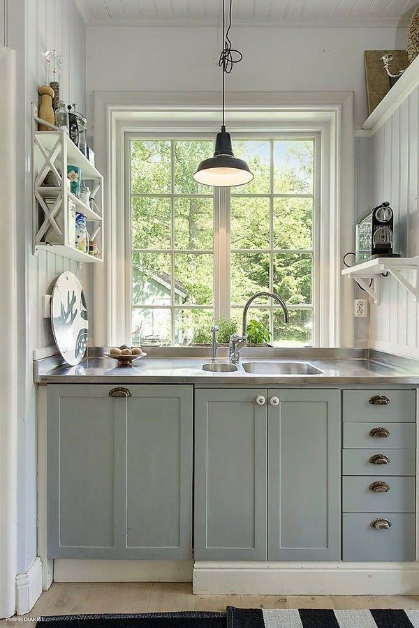Charming ... Functional And Practical Kitchen Solutions For Small Kitchens Part 26