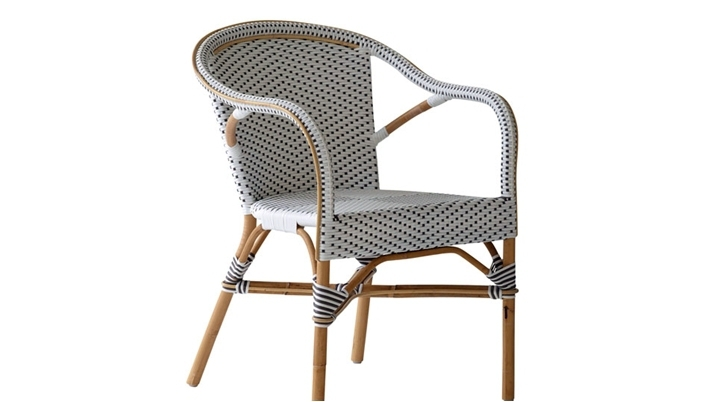 Madelaine Chair Coffee Outdoor Rattan Furniture   Sika Design Collection  Spotlight