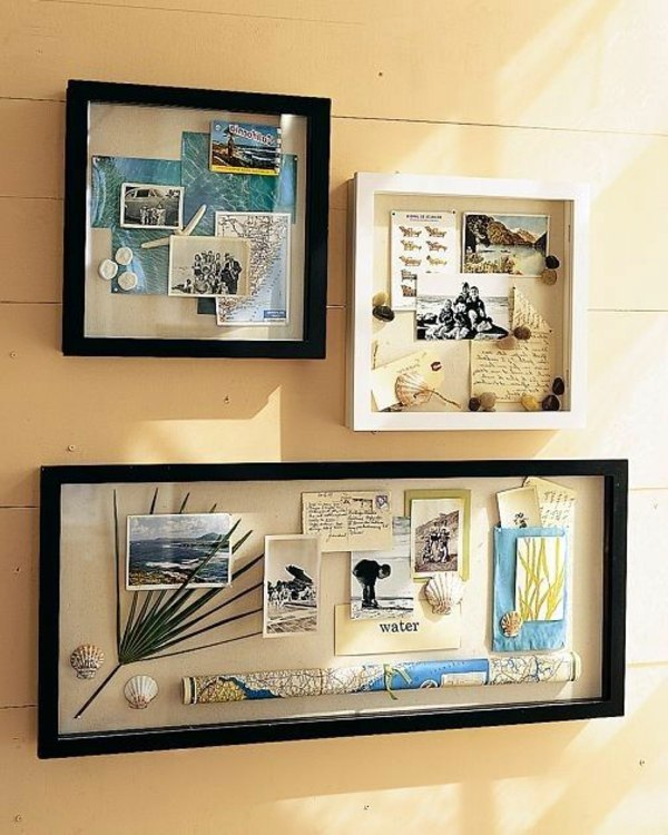 Beach Theme Home Decor Shadow Box Beach Gift: DIY Wall Art And Decorations