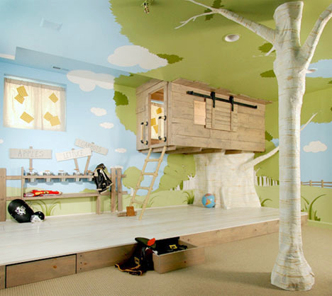 Design A House For Kids indoor tree house – 10 cool ideas for kids | interior design ideas
