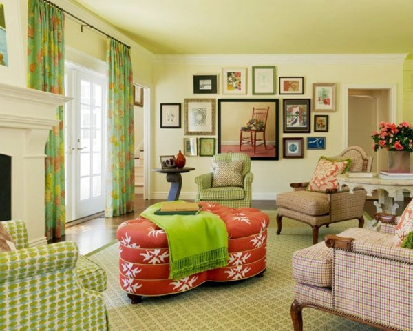 Color design ideas for your home summer trends for American classic interior