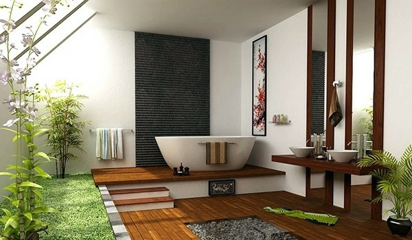 Badeinrichtung - 10 wonderful decorating ideas for your dream bathroom