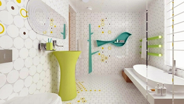 Badezimmer - 10 wonderful decorating ideas for your dream bathroom