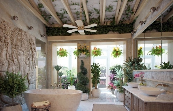 10 wonderful decorating ideas for your dream bathroom