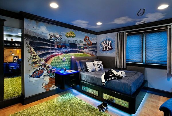 Charming Cool Background Wall Screen 105 Cool Tips And Pictures For Youth Room Design