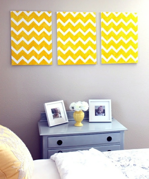 DIY wall art – make innovative wall decoration itself | Interior ...