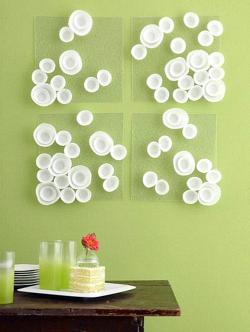 Wall Decoration Making : Diy wall art make innovative decoration itself