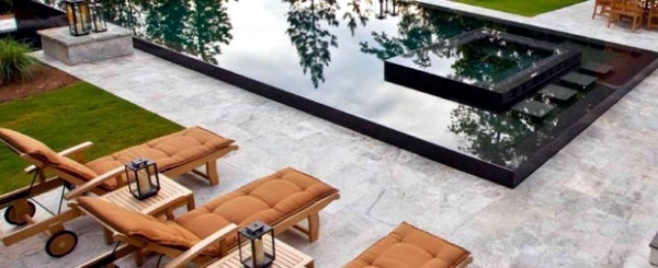 Balkonmöbel   Relax Lounge Chair By The Pool Area   15 Ideas For Modern Lounge  Furniture