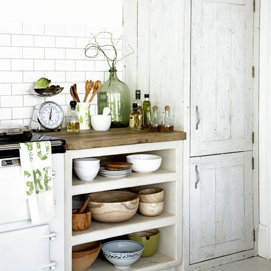 Kitchen Cabinets Or Open Shelving We Asked An Expert For: 50 Modern Country House Kitchens