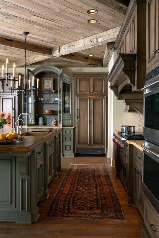 50 Modern Country House Kitchens Kitchen Design Rustic