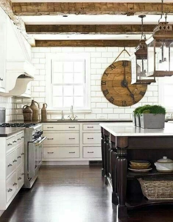 High Quality ... 50 Modern Country House Kitchens   Kitchen Design, Rustic Kitchen  Furniture