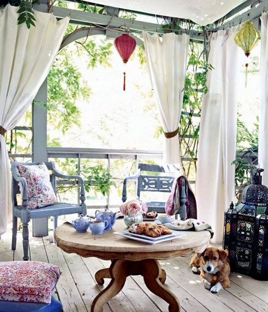 Perfect patio in the garden or on the terrace