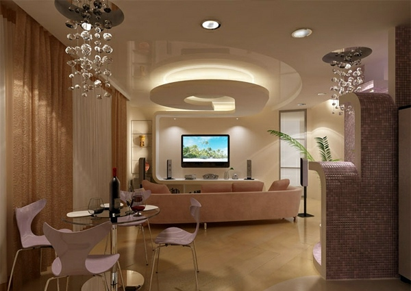 Ceiling design in living room amazing suspended for Suspended ceiling designs living room