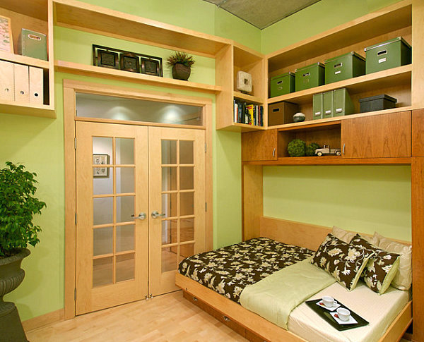 [Pages Designer] Fresh Green Atmosphere In The Makeshift Room Cool Sofa  Beds Offer Comfort And Practical Functionality For Small Apartments Part 43