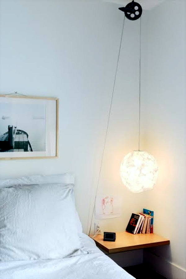 Great Hanging Bed Lamps Interior Design Ideas Avso Org