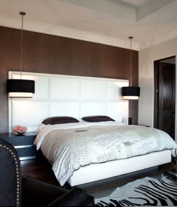great hanging bed lamps