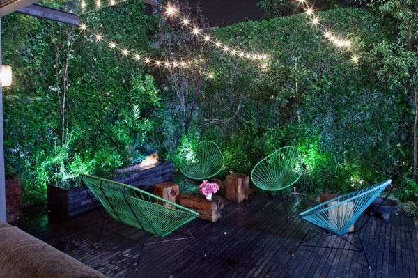 13 ideas for garden design pictures of seating and for Jungle garden design ideas