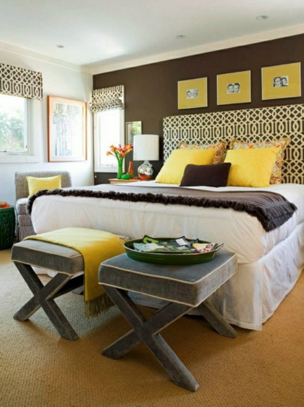 Wall color shades of brown – earthy, natural coziness at home ...