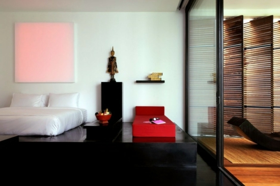 Minimalist design hotel the library in koh samui for Minimalist hotel design