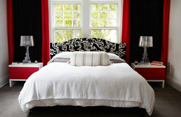 Black White And Red Bedroom Ideas 3 New Decorating