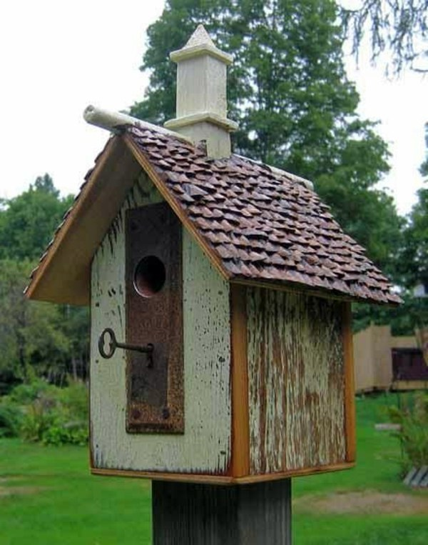 Build bird house itself – DIY instructions and 40 ideas for you ...