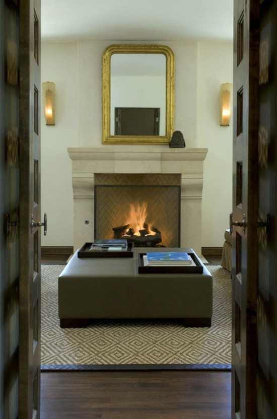 A Modern Fireplace Or A Rumford Fireplace The Advantages