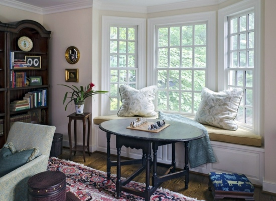 How to add a window seat correctly