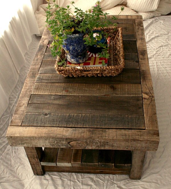 build coffee table  diy ideas  crafters