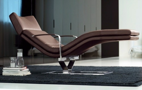 Comfortable chair to relax modern and elegant for Chaise longue interieur