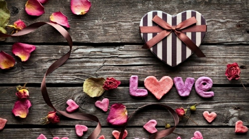 DIY - Do it yourself - DIY decorating ideas for Valentine's Day