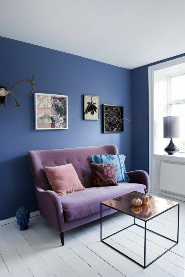 Blue Is Somewhat Stricter Wall Colors Pictures   40 Inspiring Examples