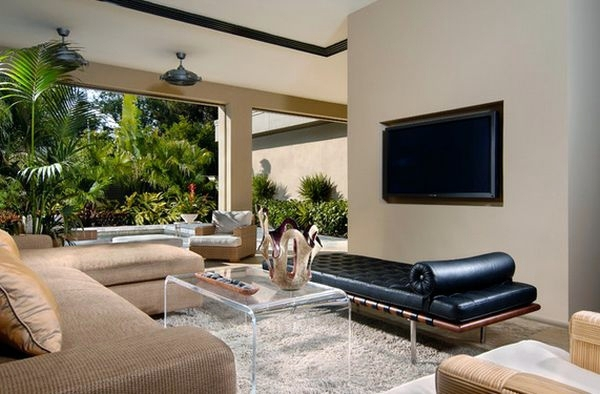 Coffee Table Made Of Acrylic Glass Complements Any Living Room Furniture Interior Design Ideas