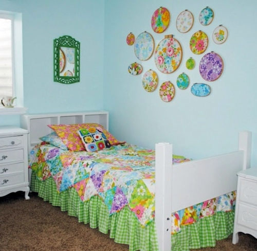 Craft Ideas For Decoration Of Bed Linens
