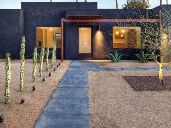 How Can One Create His Front Garden Design Modern Interior - Modern front garden design