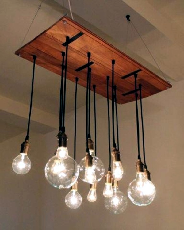 Diy Chandelier From Euro Pallets Brighten Your Home