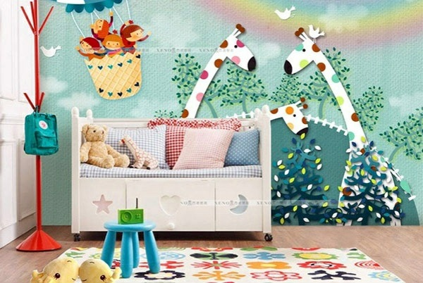 Elegant ... Baby Room Wall   15 Wall Art Ideas With Animals