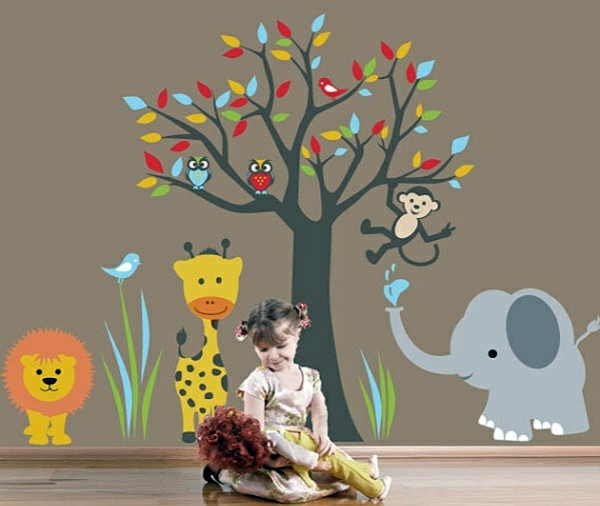 Baby Room Wall – 15 Wall Art Ideas with animals  Interior Design Ideas  AVSO.ORG