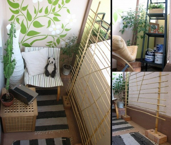 Cool little balcony 40 creative and practical ideas for Cool apartment patio ideas