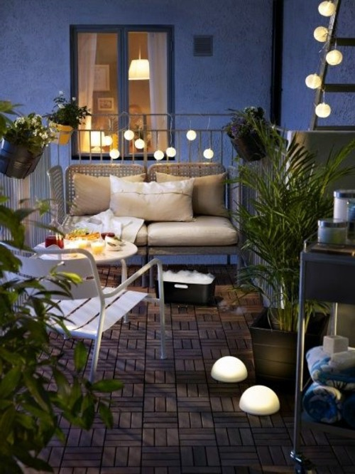 Metal outdoor furniture - Light Rattan Furniture With Soft Mattresses Why Not Hanging On The