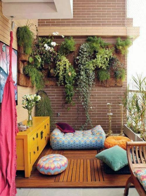 Balcony design plan - 30 correctly startling furnishing ideas