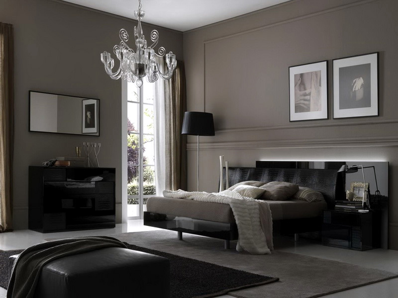 Interior design ideas for wall paint in shades of gray for Interior paint design