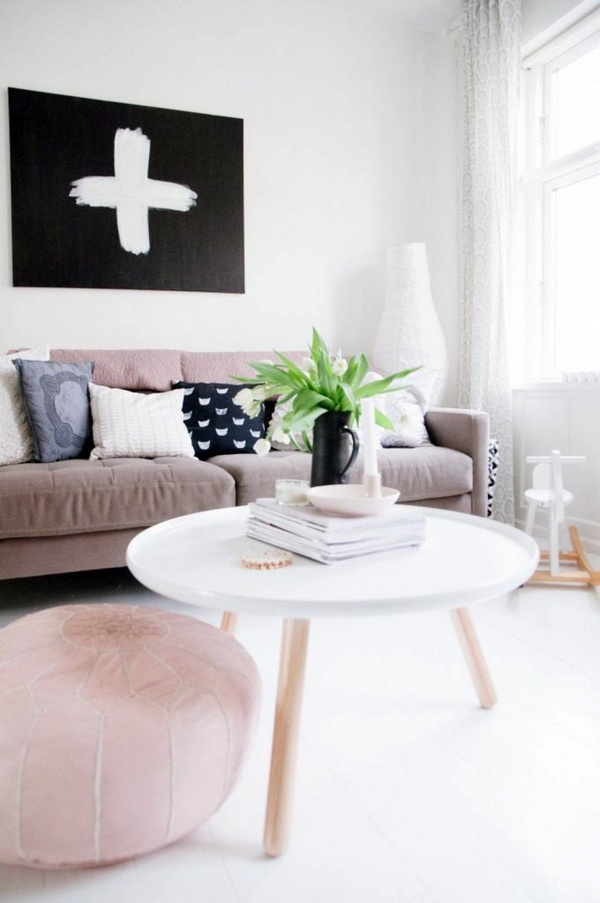 round coffee table the eye catcher in your living room interior