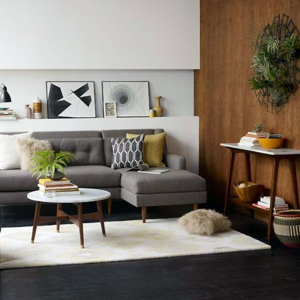 Round coffee table – the eye-catcher in your living room ...
