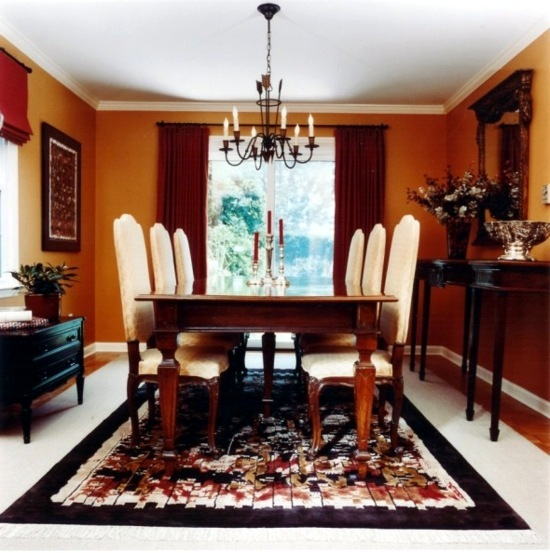 Dining Room Orange: The Color Orange For Your Dining Room