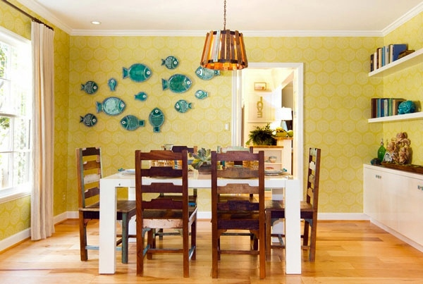 Wall decoration with plates – What makes the dinner plates on the ...