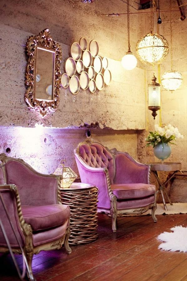 Ideas the violet color in the interior interior design ideas