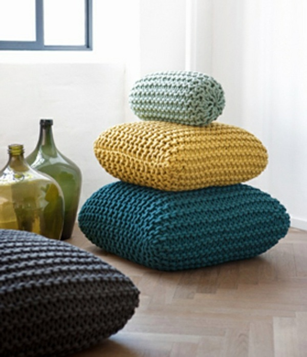 Knitwear For Decoration Give Your Home Warmth Rural